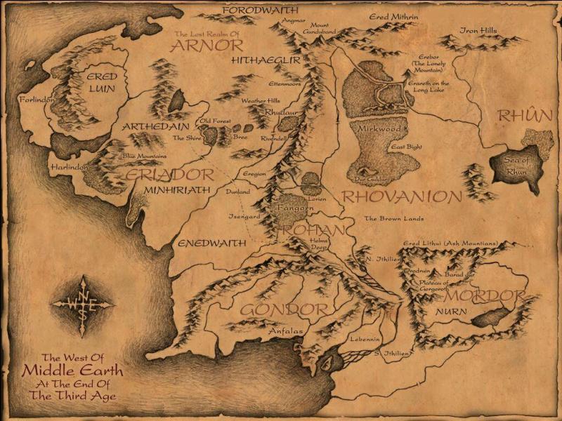 Où partirent une minorité d'Elfes ?