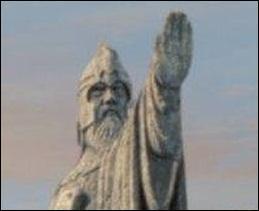 Quels rois sont représentés sur l'Argonath ?