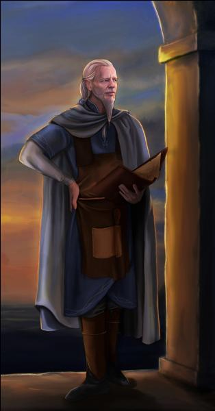 Quel Elfe, le plus âgé, est le seul connu à porter la barbe ?