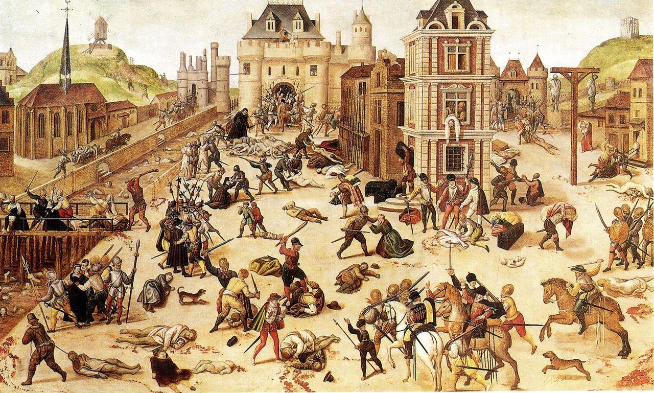 Les guerres de Religion en France (1562-1598)