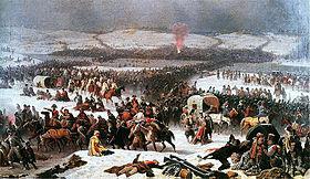 La bataille de la Bérézina