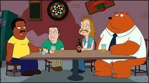 """Avant d'avoir droit à sa propre série, Cleveland Brown, le personnage central de """"The Cleveland Show"""", apparaissait dans une série animée évoquée plus haut dans ce quiz. Laquelle est-ce ?"""