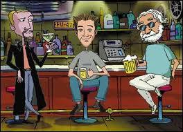 Cette série animée fut malheureusement annulée après une poignée d'épisodes. NBC, suite à des plaintes reçues pour le contenu anti-religieux de la série, a été contraint de mettre un terme à sa diffusion (le faible taux d'audience ayant également influé sur la décision). Quel est le titre de cette série télévisée d'animation ?