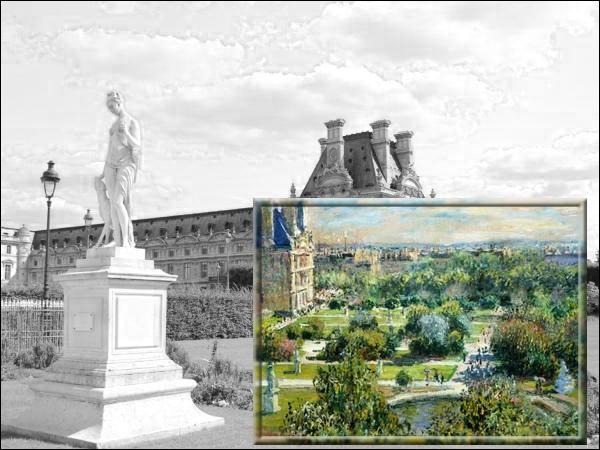 Ce jardin parisien fut immortalisé par le maître de l'impressionnisme Claude Monet en 1876...