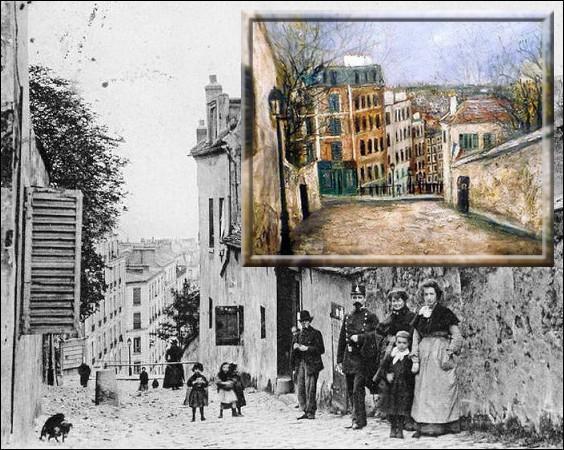 Né à Paris en 1883, par ses nombreux paysages du quartier de Montmartre, il est sans aucun doute le plus parisien des peintres français...