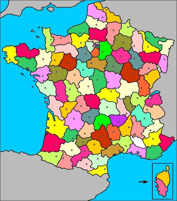 Monuments, villes et départements français 2