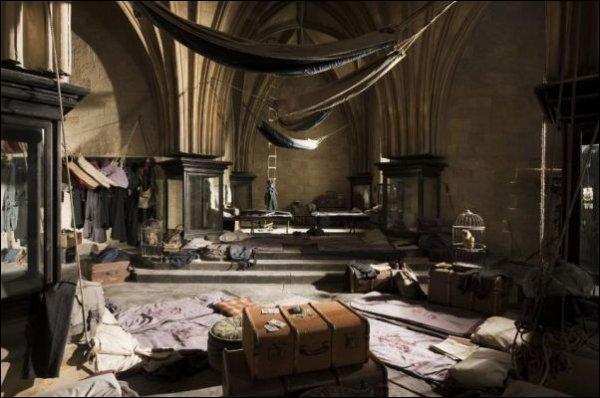 À Poudlard, où dorment les élèves qui sont amis avec Harry ?