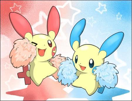 Comment se prénomme le petit Pokémon aux oreilles rouges ?