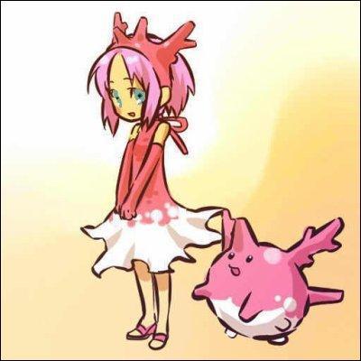 En quel Pokémon est déguisée cette fillette ?