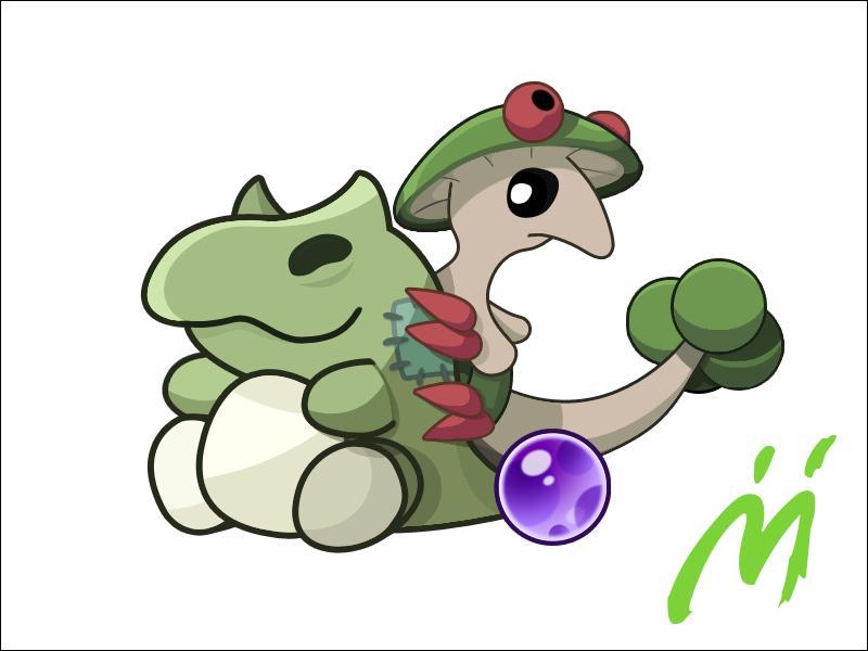 Qui est le Pokémon agrippé à la peluche ?
