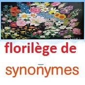Florilège de synonymes