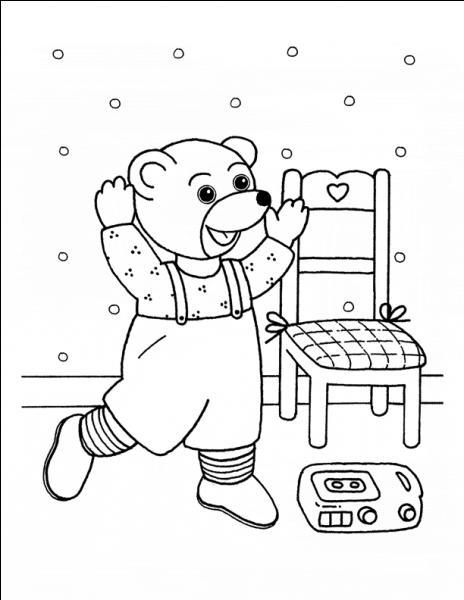 Quelle couleur a ce petit ours dans les livres pour enfants ?