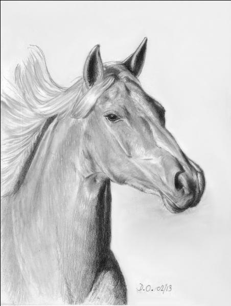 """De quelle couleur était le cheval dans la chanson d'Hugues Aufray """"Le coeur gros"""" ?"""