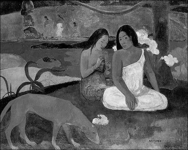 """Paul Gauguin a peint une oeuvre appelée """"Le chien ..."""""""