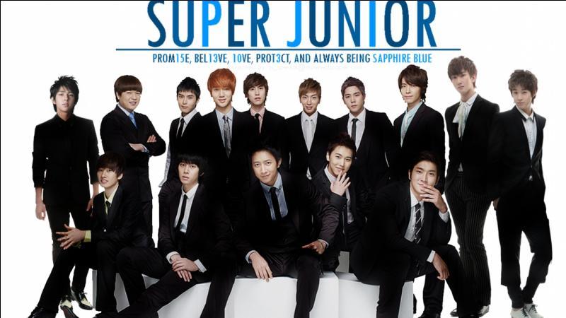 Cochez les membres qui appartiennent au groupe Super Junior