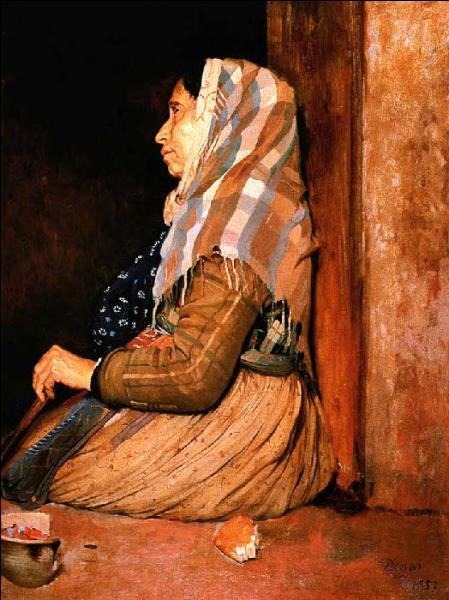 Qui a peint Une mendiante ?