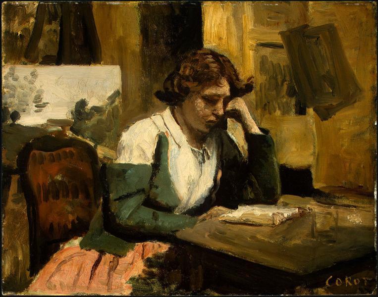 Qui a peint Jeune fille lisant ?