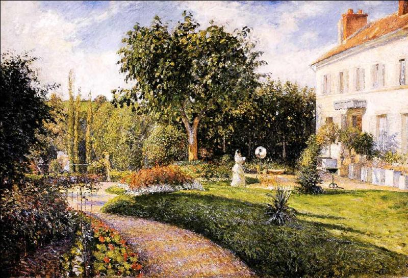 Qui a peint Le jardin des Mathurins ?