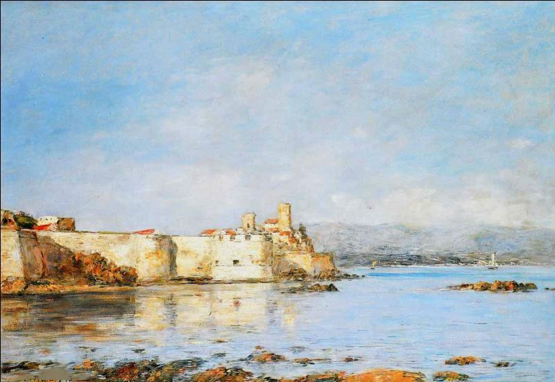 Qui a peint Le port d'Antibes ?