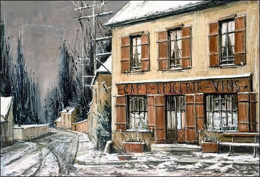 Qui a peint La route de Chevreuse ?
