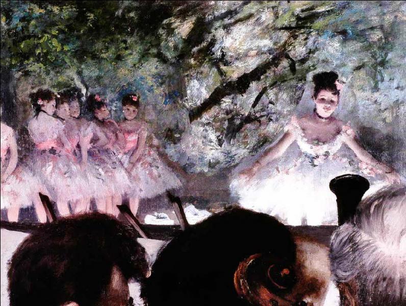 Qui a peint Les musiciens dans l'orchestre ?