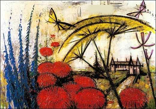 Qui a peint Le manoir des ombrelles ?