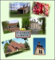 Voici différentes vues du village Ligérien de Saint-Romain-la-Motte. Il se trouve en région ...