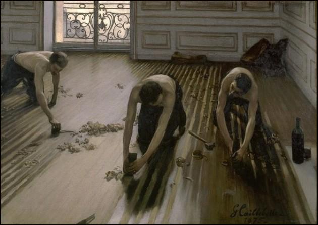"""Il a peint, magnifiquement """"le pont de l'Europe"""" et """"les raboteurs de parquet"""". Qui est-ce ?"""