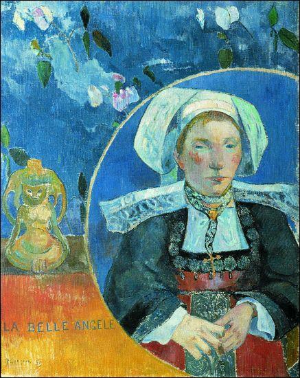 Gauguin est connu pour ses paysages et personnages de Tahiti. Mais il vécut aussi en Bretagne où il fut le chef de file d'un mouvement pictural. Comment se nomme-t-il ?