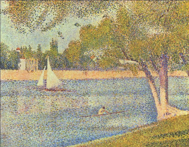 A l'intérieur du courant impressionniste, Georges Seurat et Paul Signac se distinguèrent par leur façon de peindre. Quel nom porte leur technique picturale ?