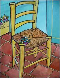 En novembre 1888, Van Gogh est à Arles. Il pleut et, bloqué chez lui, il peint deux chaises, la sienne et une autre. C'est celle d'un de ses amis, peintre également. De qui s'agit-il ?