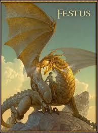 Comment s'appelle le dragon de Léo ?
