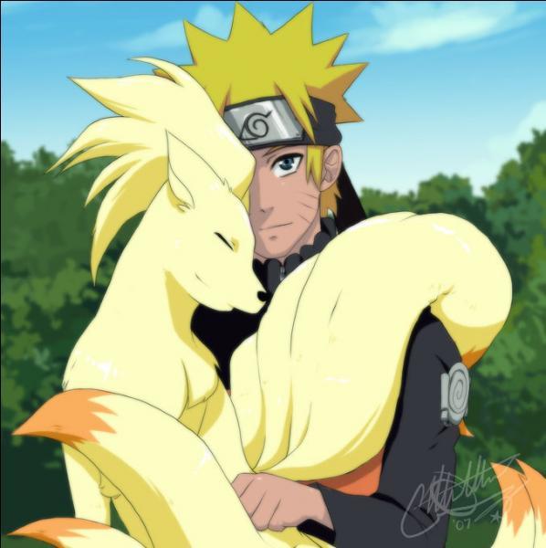 Qui est avec Naruto ?
