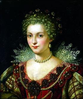 A 40 ans Henri IV est amoureux fou de sa maîtresse ... . Il demande au Pape l'annulation de son union avec Marguerite de Valois et annonce publiquement son intention d'épouser la jeune femme. Mais celle-ci ne sera jamais reine de France. Elle meurt brutalement à 25 ans, empoisonnée disent certains, mais plus probablement victime d'éclampsie puerpérale.