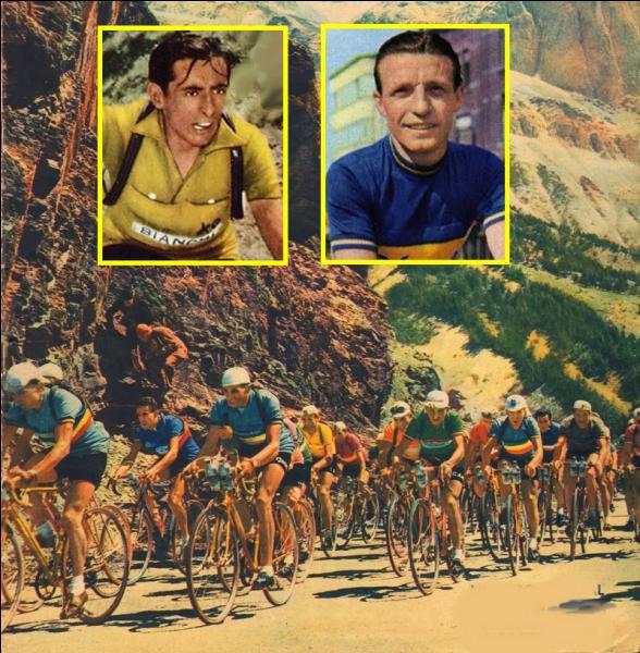 Depuis 1947, le plus gros écart entre le vainqueur Fausto Coppi et son second en 1952 : 28 mm et 17 secondes. Qui était ce second ?