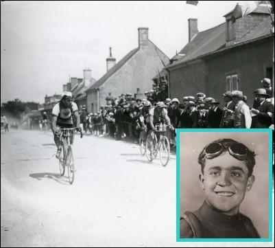 Fabio Battesini fut en 1931 le plus jeune vainqueur d'étape du Tour, record qu'il détient toujours , il avait ce jour là ...