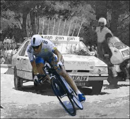 Qui aujourd'hui est encore le détenteur du prologue le plus rapide du Tour avec une moyenne de 55, 152 km/heure ?