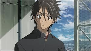 'Highschool Of The Dead' : Komuro Takashi a tué le petit ami de Miyamoto Rei : Igô Hisashi.