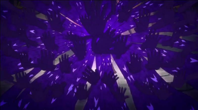 Cette attaque de Brain/Zero et de Midnight qui envoie des spectres et emprisonne dans une autre dimension, c'est...