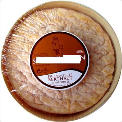 F comme fromage et précisément le petit frère de l'Epoisses.