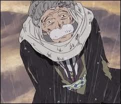Luffy et ces compagnons se rendent à Yuba pour arrêter l'armée rebelle et là ils font la connaissance d'un vieil homme qui est-il ?
