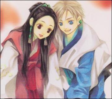 L'histoire se déroule à l'époque de la Chine médiévale. Au milieu des conflits de pouvoir, on retrouve Aki, fille de la reine officielle du pays d'Â, Hakusei son esclave aux yeux bleus, la méchante reine de Dô et son fils et d'autres personnages, tous aussi importants.
