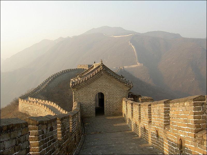 Dans quel pays se situe 'la Grande Muraille' ?