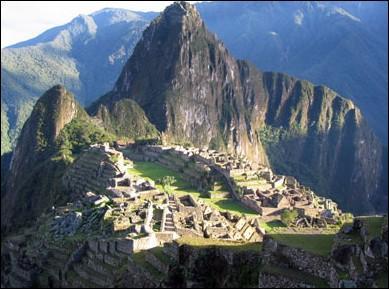 Dans quel pays se situe 'le Machu Picchu' ?