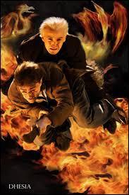 Que dit Ron à Harry quand celui-ci décide d'aller sauver Drago?