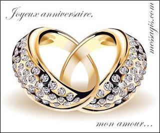 Combien d'années de mariage fêtez-vous si ce sont vos noces de diamant ?