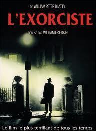 """Bien sûr, cette photo vous dit quelque chose. Vous pensez immédiatement à """"L'Exorciste"""". Mais précédemment au film, qui a écrit """"L'Exorciste"""" ?"""