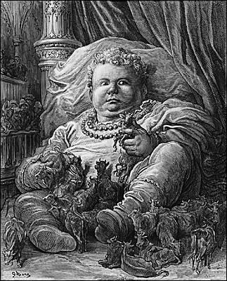 """""""Croqué"""" par Gustave Doré, il s'agit du célèbre :"""