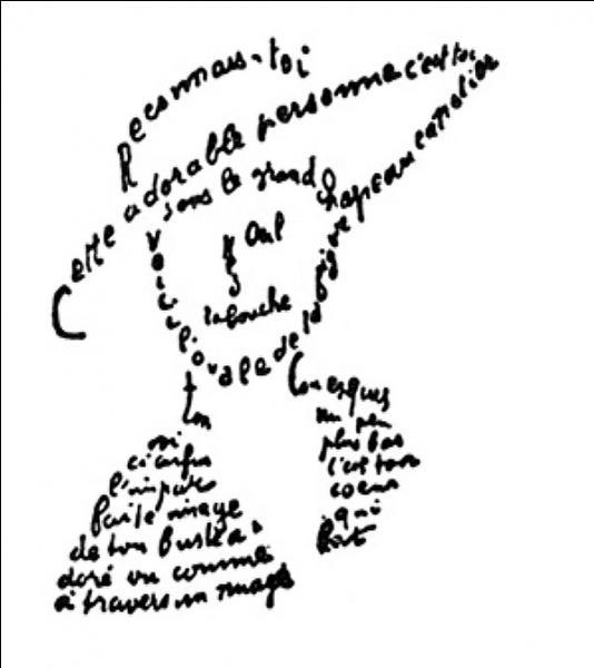Cette image est directement issue d'un recueil de poésies. Il s'agit de :