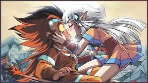 Finalement dans quel tome Shimy embrasse-t-elle Gryf ?